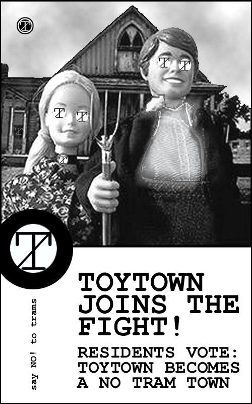 Toytown joins the fight!