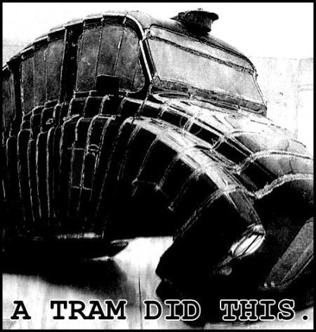 A Tram Did This: Taxi