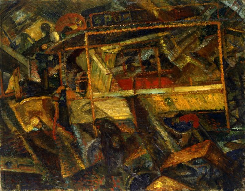 Ciò che mi ha detto il tram (What the tram told me) - Carrà Carlo, 1911